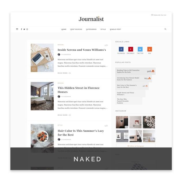 Journalist - WordPress Blog & Magazine Theme - 6