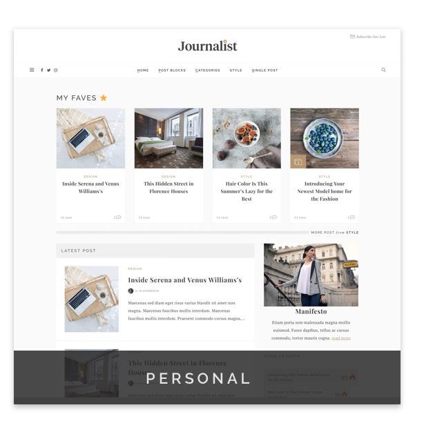 Journalist - WordPress Blog & Magazine Theme - 5