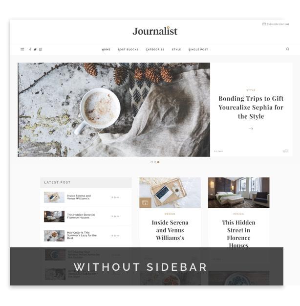 Journalist - WordPress Blog & Magazine Theme - 7