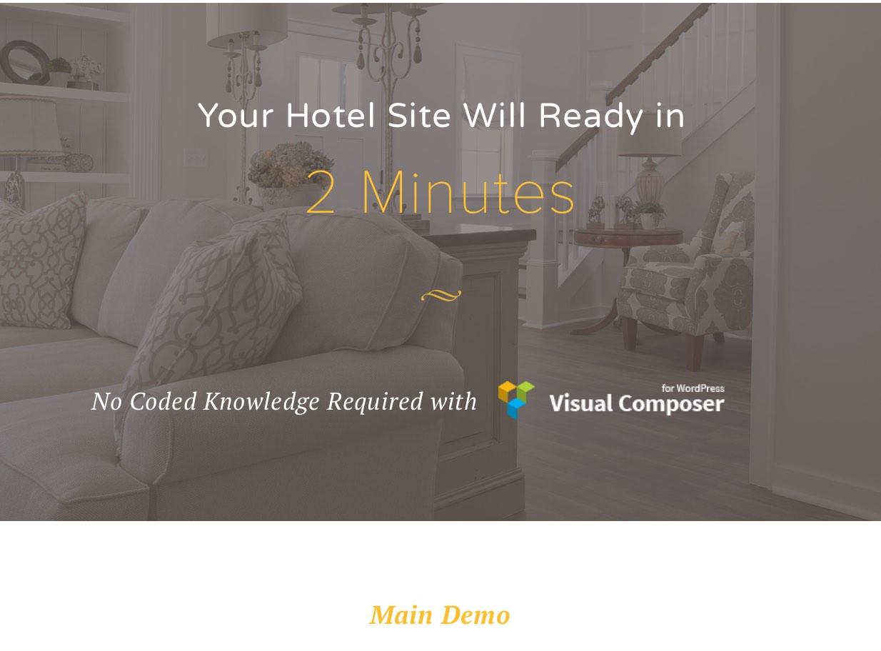 Luxen - Premium Hotel & Booking WordPress Theme - 1