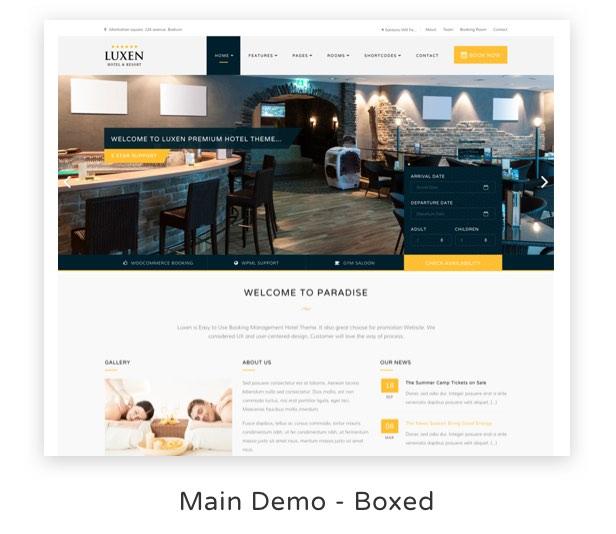 Luxen - Premium Hotel & Booking WordPress Theme - 6